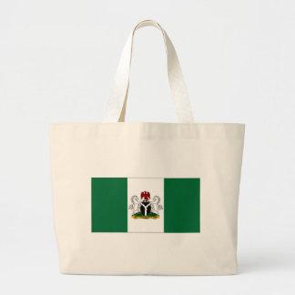 Nigeria President Flag Canvas Bag