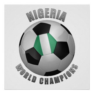 NIGERIA SOCCER CHAMPIONS POSTERS