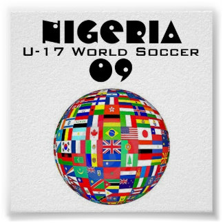 Nigeria Soccer Posters