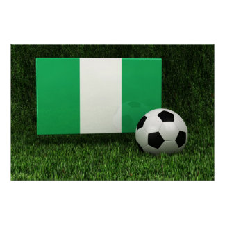 Nigeria Soccer Print