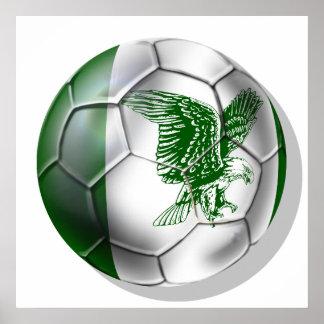Nigeria Soccer T-shirts Print