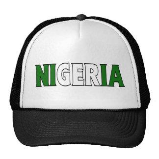 Nigeria Trucker Trucker Hat