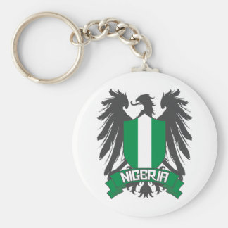 Nigeria Winged Key Ring