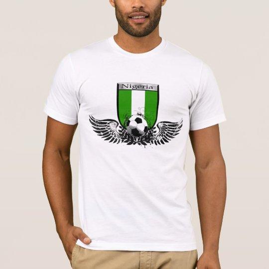 Nigeria Winged soccer football emblem shield T-Shirt