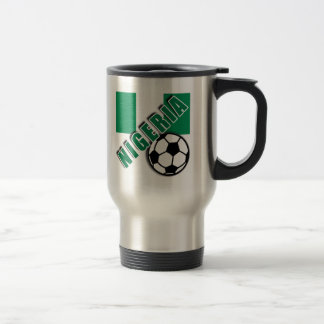NIGERIA World Soccer Fan Tshirts Stainless Steel Travel Mug