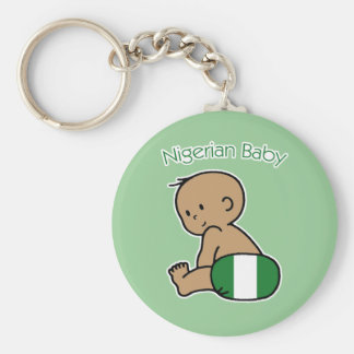 Nigerian Baby Key Ring
