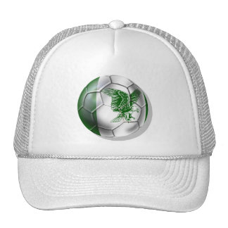 Nigerian ball for Nigerian soccer players Cap