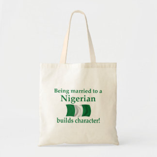 Nigerian Builds Character Canvas Bag