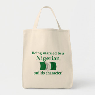 Nigerian Builds Character Canvas Bags