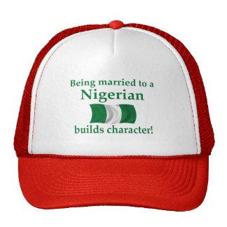 Nigerian Builds Character Cap