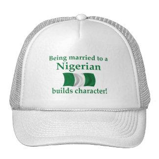 Nigerian Builds Character Trucker Hat