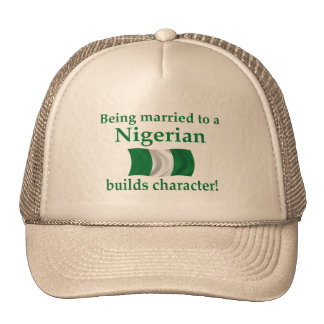 Nigerian Builds Character Hats