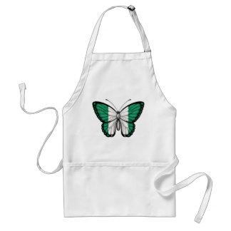 Nigerian Butterfly Flag Apron