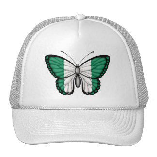 Nigerian Butterfly Flag Hats