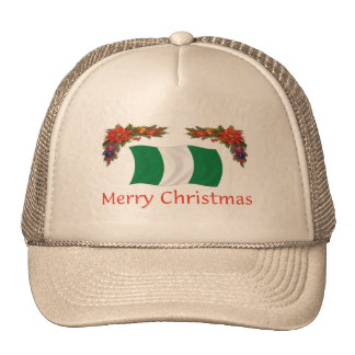 Nigerian Christmas Trucker Hat