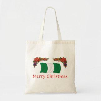 Nigerian Christmas Budget Tote Bag