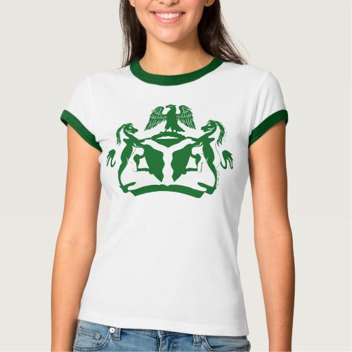 Nigerian Coat Of Arms Design T Shirt Zazzle