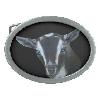 Nigerian Dwarf  Dairy Goat Belt Buckle