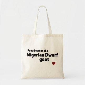 Nigerian Dwarf goat Budget Tote Bag