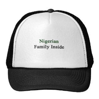 Nigerian Family Inside Mesh Hats