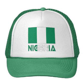 Nigerian Flag and Nigeria Hat