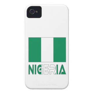 Nigerian Flag and Nigeria iPhone 4 Cover