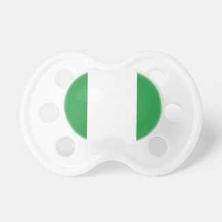 Nigerian Flag Baby Pacifier