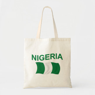 Nigerian Flag Tote Bag