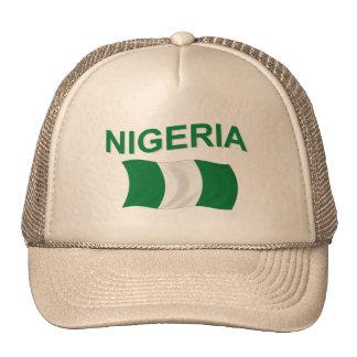 Nigerian Flag Trucker Hat