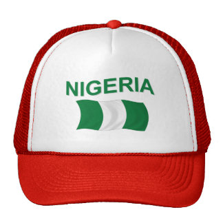 Nigerian Flag Hat