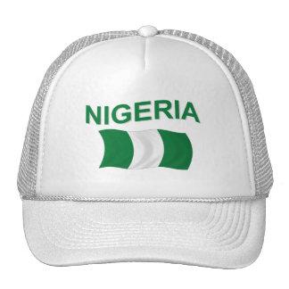 Nigerian Flag Trucker Hats