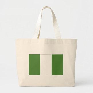 Nigerian Flag Jumbo Tote Bag