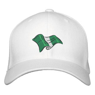 Nigerian flag of Nigeria Naija embroidered cap Embroidered Baseball Cap