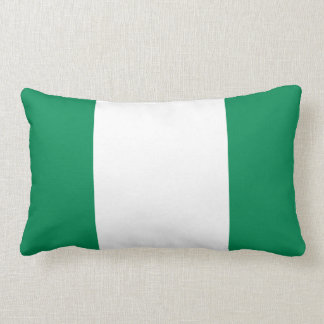 Nigerian flag pillow