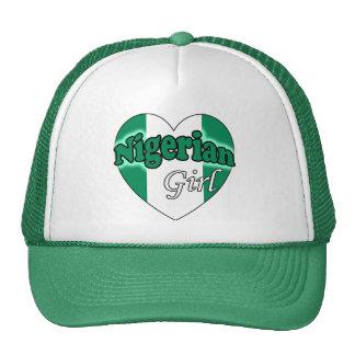 Nigerian Girl Mesh Hats