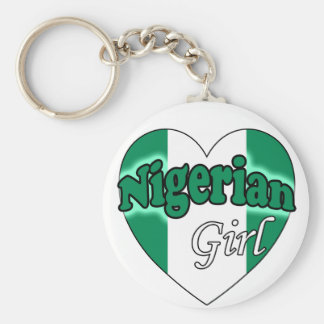 Nigerian Girl Key Ring