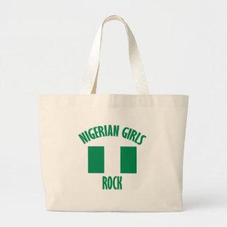 Nigerian girls DESIGNS Jumbo Tote Bag