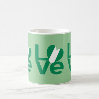 Nigerian LOVE Green Coffee Mug