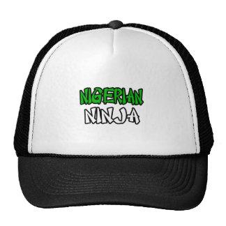 Nigerian Ninja Trucker Hat