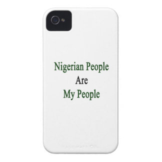 Nigerian People Are My People iPhone 4 Case-Mate Case