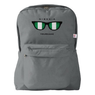 Nigerian Shades custom backpacks Backpack