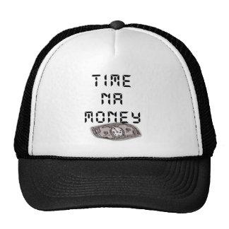Nigerian Shirt - Time na Money Cap