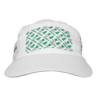 Nigerian Soccer Ball and Flag Hat