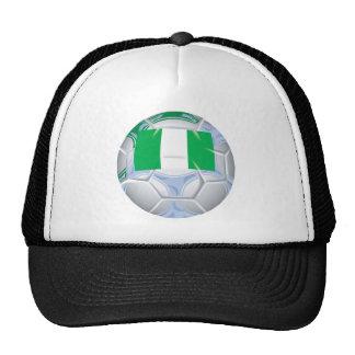 Nigerian Soccer Ball Trucker Hat