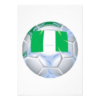 Nigerian Soccer Ball Custom Invite