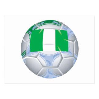 Nigerian Soccer Ball Postcard