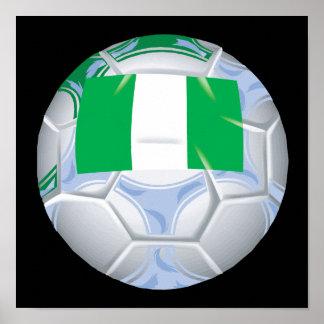 Nigerian Soccer Ball Poster