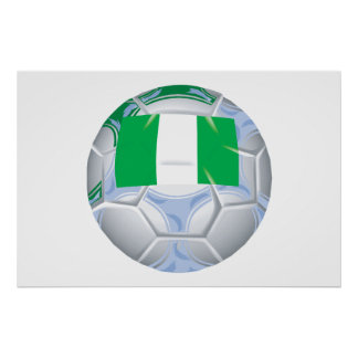 Nigerian Soccer Ball Posters