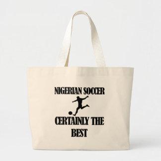 Nigerian  soccer designs jumbo tote bag