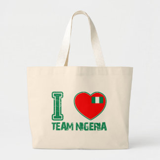 Nigerian sport designs canvas bag